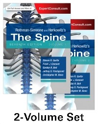 Rothman and Simeone The Spine, 2-Volume Set