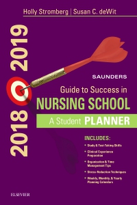 Saunders Guide to Success in Nursing School, 2018-2019